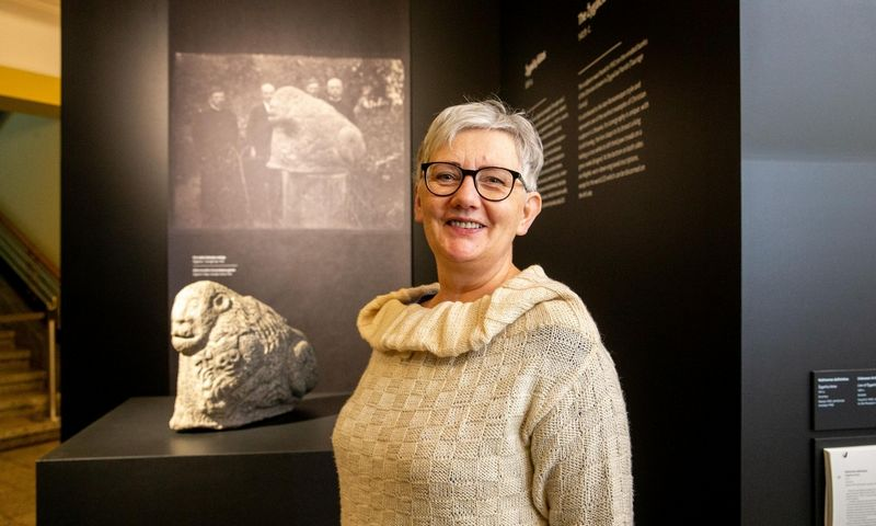 Daina Kamarauskienė, M. K. Čiurlionio dailės muziejaus direktorė. Juditos Grigelytės (VŽ) nuotr.