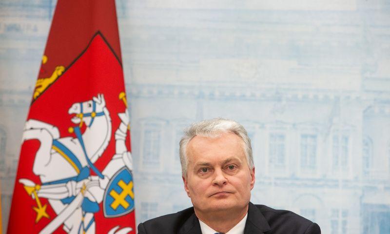 Prezidento Gitano Nausėdos spaudos konferencija. Vladimiro Ivanovo (VŽ) nuotr.