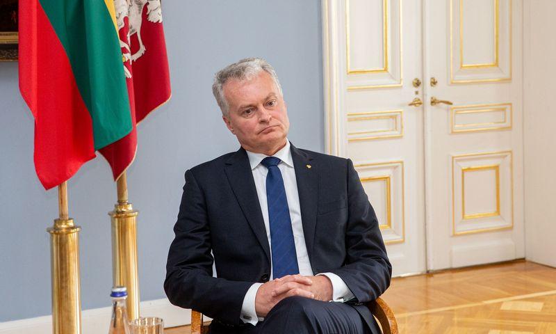 Prezidentas Gitanas Nausėda. Juditros grigelytės (VŽ) nuotr.