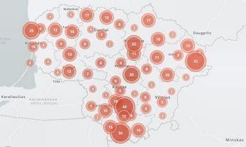 Daugiabučių modernizacija Lietuvoje: augančius tempus padės sekti interaktyvus žemėlapis