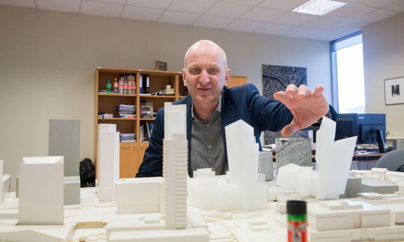 Mindaugas Pakalnis, vyriausiasis Vilniaus architektas. Juditos Grigelytės (VŽ) nuotr.