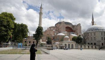 Turkijos teismas panaikino Švč. Išminties soboro muziejaus statusą
