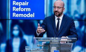 EVT pirmininko kompromisas: mažinkime daugiametį Bendrijos biudžetą ir išlaikykime 750 mlrd. Eur atsigavimo fondą