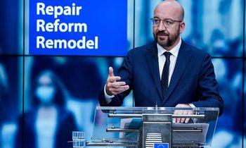 EVT pirmininkas pristatė kompromisą dėlEuropos pinigų, Lietuvai siūloma palikti kompensaciją dėl emigracijos nuostolių