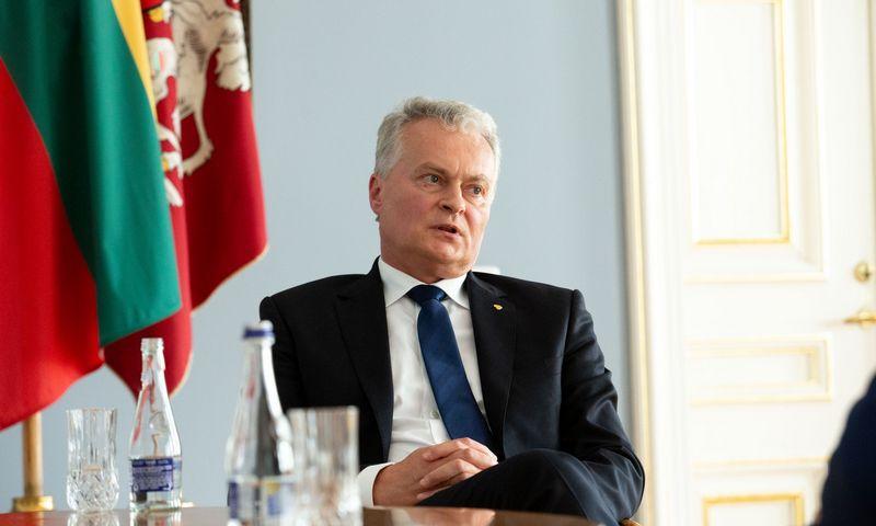 Gitanas Nausėda, Lietuvos Respublikos Prezidentas. Juditos Grigelytės (VŽ) nuotr.