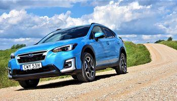 """VŽ bando: pirmasis """"Subaru"""" hibridas"""