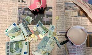 Indėliai auga, nors apklausos taupymo įgūdžių gerėjimo nefiksuoja