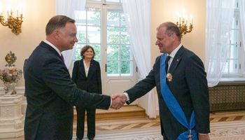 Premjeras: Lietuvos ir Lenkijos draugystė garantuoja, kad Baltijos šalys nebus Europos sala