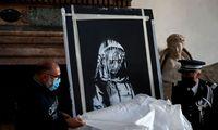 Italija sugrąžino Prancūzijai pavogtą Banksy darbą