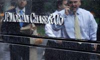 """Teigiami JAV bendrovių rezultatų akordai: """"JP Morgan"""" pranoko lūkesčius"""