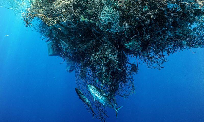 "Ramiajame vandenyne ""sužvejotos"" 103 tonos plastiko.  ""Scanpix"" / ""Ocean Voyages Institute"" nuotr."