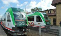 Vėl kursuos keleivinis traukinys į Balstogę, kiti tarptautiniai maršrutai dar sustabdyti