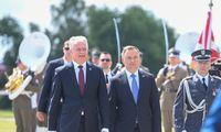 Minėdami pergalę Žalgirio mūšyje Lietuvos ir Lenkijos vadovai priminė nesaugią kaimynystę
