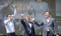 """""""Trijų muškietininkų"""" sąrašą į Seimo rinkimus ves R. Žemaitaitis"""