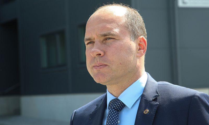 """Tomas Jurgelevičius, UAB """"Hegelmann Transporte"""" direktorius, tvirtina neturintis NVSC leidimo komentuoti šios organizacijos pareiškimų apie neva stabdomą įmonės veiklą. Vladimiro Ivanovo (VŽ) nuotr."""