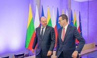 Lietuvos ir Lenkijos premjerai aptarė strateginės svarbos projektus