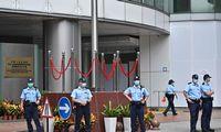 JAV naikina lengvatinį režimą Honkongui