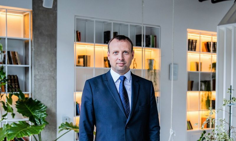 Dr. Vilius Benetis NRD Cyber Security vadovas.