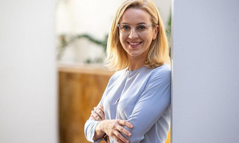 """Jurgita Lemešiūtė, darbuotojų atrankos """"People Link"""" vadovaujanti partnerė, akcentuoja, kad darbdavius dažniausiai ir suklaidina pirmasis įspūdis. Vladimiro Ivanovo (VŽ) nuotr."""