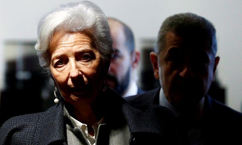 "Christine Lagarde, ECB prezidentė.  Francois Lenoir (""Reuters"" / ""Scanpix"") nuotr."