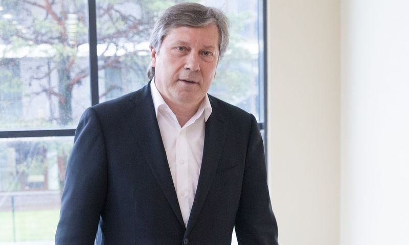 """Saulius Grinkevičius, UAB """"Daumantai LT"""" akcininkas ir generalinis direktorius. Juditos Grigelytės (VŽ) nuotr."""