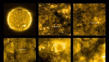 """Saulės nuotraukose pirmąsyk užfiksuoti mažieji """"laužai"""""""