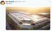 """""""Tesla"""" fabrikas Berlyne: žada baseiną ir šokių aikštelę"""