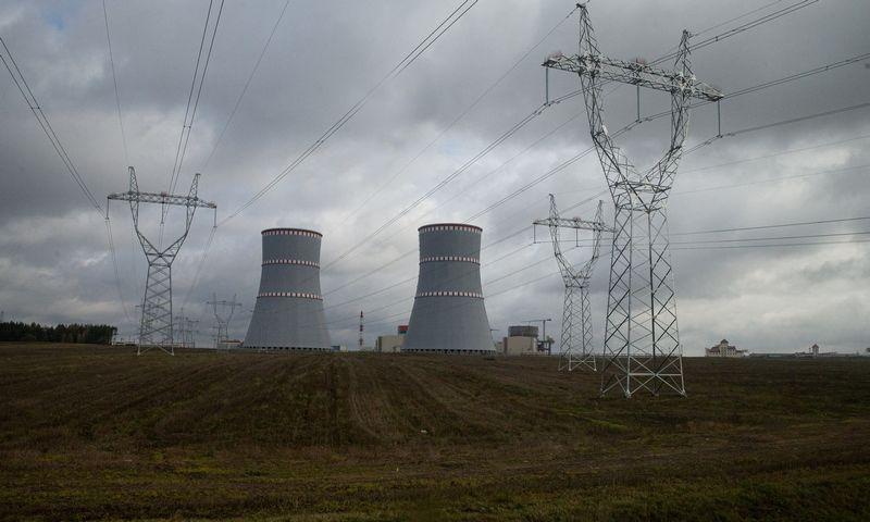 Statoma Baltarusijos atominė elektrinė Astrave. Vladimiro Ivanovo (VŽ) nuotr.