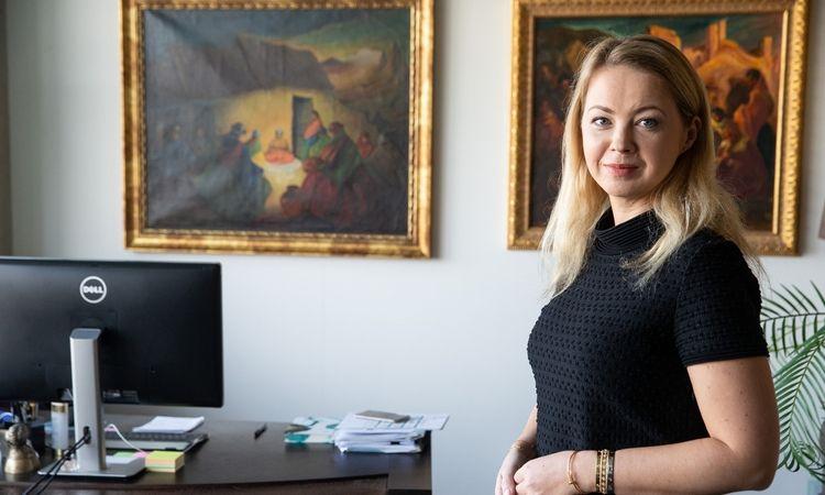 """Rita Kavaliauskienė, UAB """"Lewben"""" vykdomoji direktorė ir valdybos narė. Vladimiro Ivanovo (VŽ) nuotr."""