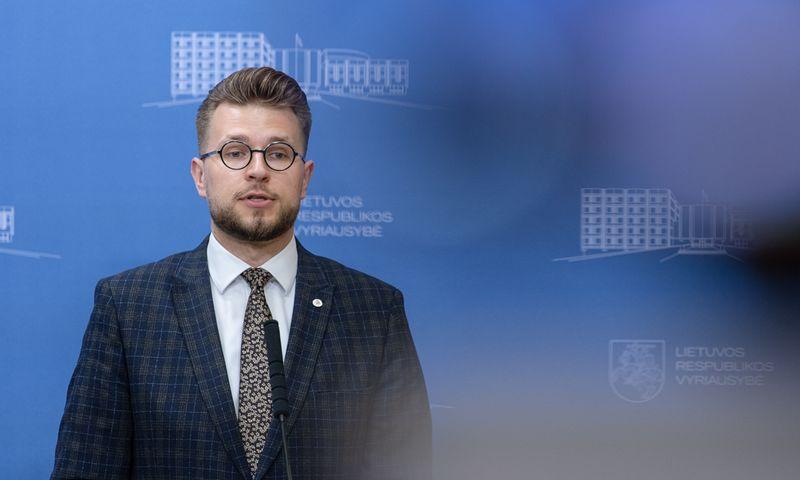 Lukas Savickas, Vyriausybės kanclerio pirmasis pavaduotojas. Dariaus Janučio (LRVK) nuotr. Įmonės nuotr.