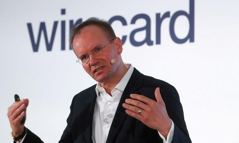 """Markusas Braunas, buvęs """"Wirecard"""" vadovas. Michaelio Dalderio (""""Scanpix""""/""""Reuters"""") nuotr."""
