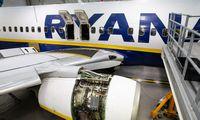 """Nesusitarusi su vokiečių pilotais """"Ryanair"""" uždaro bazę Frankfurte"""