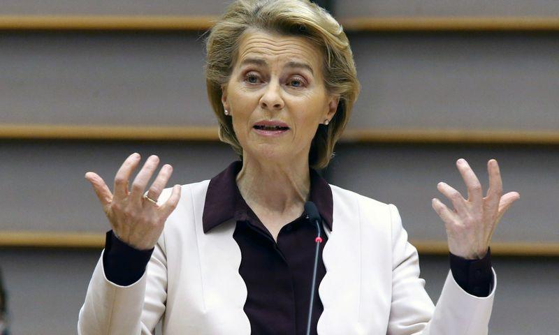 "Ursula von der Leyen, Europos Komisijos pirmininkė. Francois Walschaerts (""Reuters"" / ""Scanpix"") nuotr."