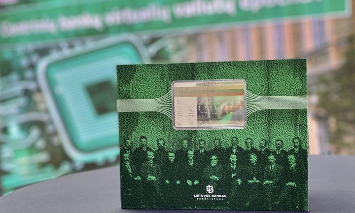 Lietuvos bankas išleidžia pirmąją pasaulyje skaitmeninę kolekcinę monetą LBCOIN