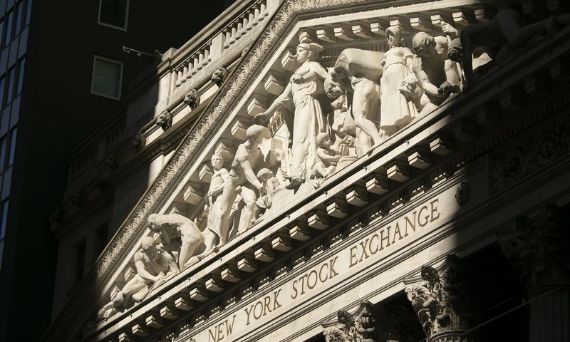 "Niujorko birža. Mark Lennihan (AP / ""Scanpix"") nuotr."