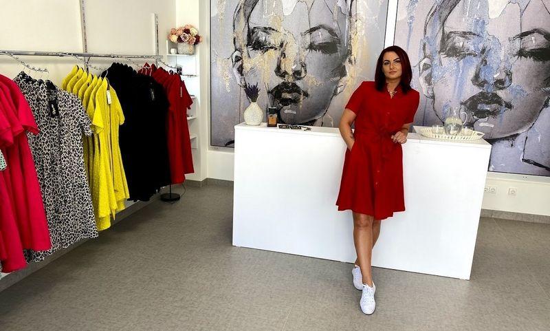 """Sigita Braškienė,  MB Stiliaus loftas,  valdančios drabužių parduotuvę """"Style 4 You"""", bendraturtė. Įmonės nuotr."""