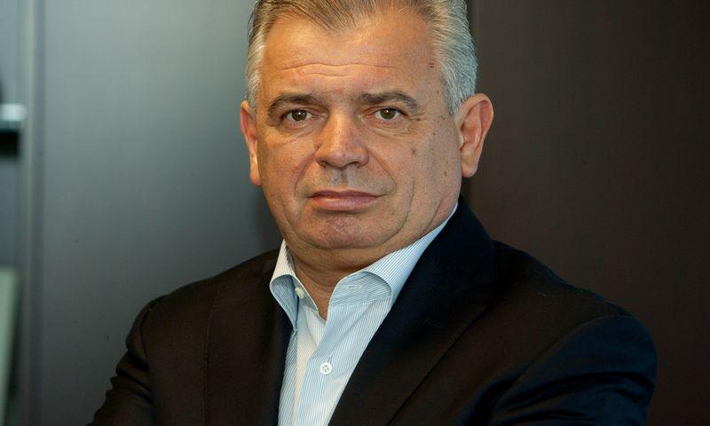 """Vidmantas Kučinskas, """"Arvi """" įmonių grupės valdybos pirmininkas, prezidentas, generalinis direktorius. Vladimiro Ivanovo (VŽ) nuotr."""