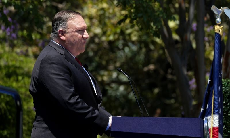 "Mike'as Pompeo, JAV valstybės sekretorius. Ringo Chiu (""Zuma Wire"" / ""Scanpix"") nuotr."