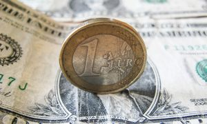 Euro ginklas kovoje su JAV dolerio dominavimu