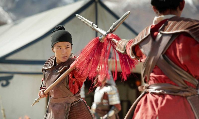 """Kadras iš filmo """"Mulan"""". (CAP/""""Scanpix"""") nuotr."""