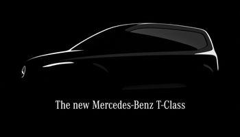 """Mercedes-Benz"" kuria naują, T klasėskomercinį furgoną"