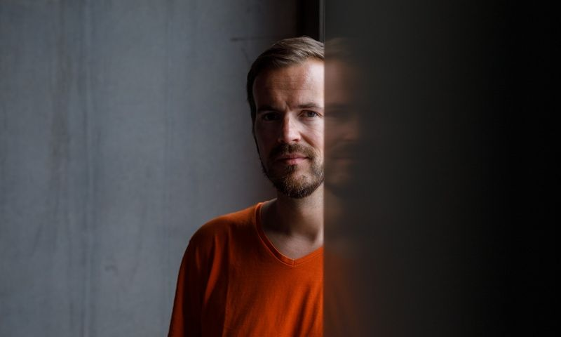 """Taavetas Hinrikusas, vienas """"TransferWise"""" įkūrėjų. Andras Kralla (""""Aripaev"""" / """"Scanpix"""") nuotr."""