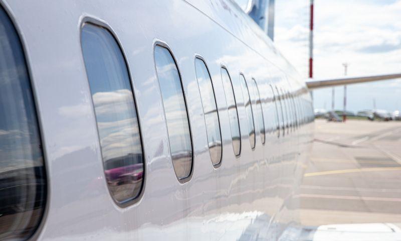 Keleivinės aviacijos atsigavimo prognozės atitdedamos vis tolimesnei ateičiai. Juditos Grigelytės (VŽ) nuotr.