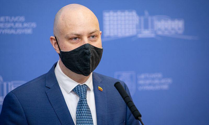 Aurelijus Veryga, sveikatos apsaugos ministras. Dariaus Janučio (LRVK) nuotr.