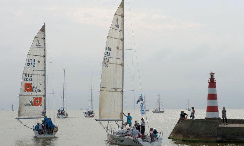 Kuršių marių regata. Aušros Barysienės nuotr.