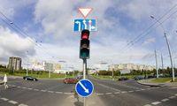 Nyderlandai bando vilkikams pirmenybę teikiančius šviesoforus