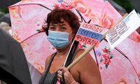 Rusijos Tolimuosiuose Rytuose nauji protestai dėl gubernatoriaus arešto