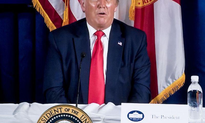 "Donaldas Trumpas, JAV prezidentas. Briano Cahno (""ZUMA Wire"" / ""Scanpix"") nuotr."