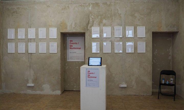 99 nutikimai J. Meko vizualiųjų menų centre