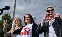 Persekiojamų Baltarusijos opozicioneirių misiją perima 3 moterys